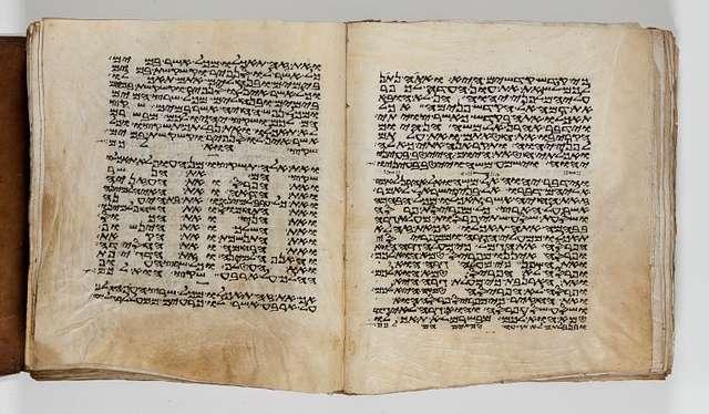 Folios 283v-284r: Leviticus 10:17-11:21