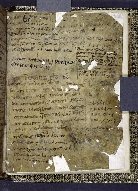 Note dated 1239.