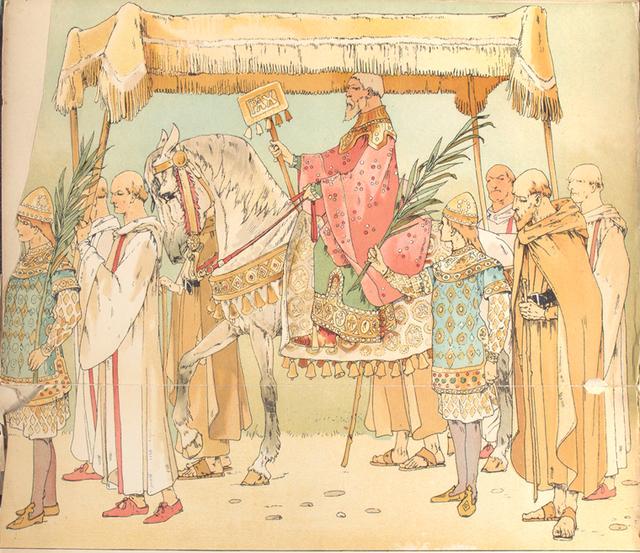 Page, Baldakyn dragers, Polyeuctos, Enthymion.