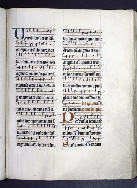 Page of music.