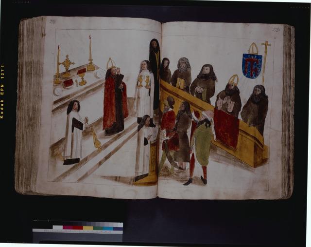 Divine service according to the Greek Orthodox rite ff. 274-275