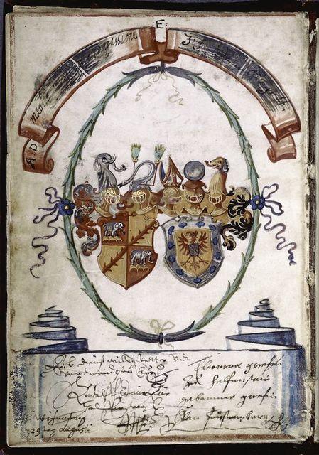 German arms, 16th century.