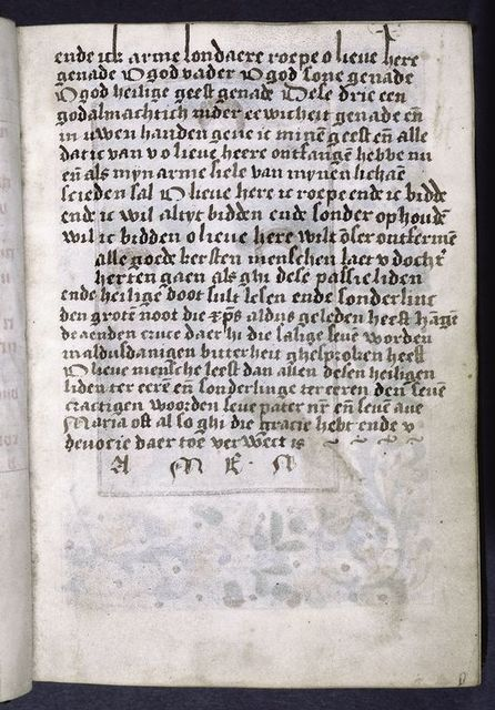 Second page of Flemish.