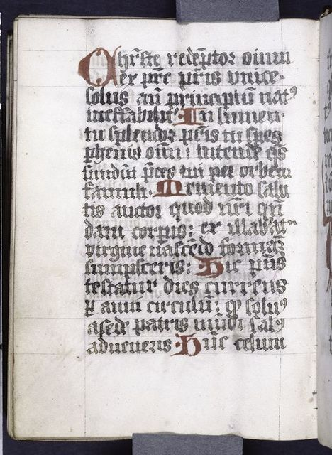 Explicit of main text, end of hand one.  Colophon with name of scribe and date of writing.