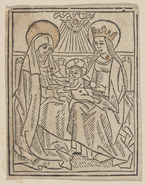 The Virgin and Child with St. Ann