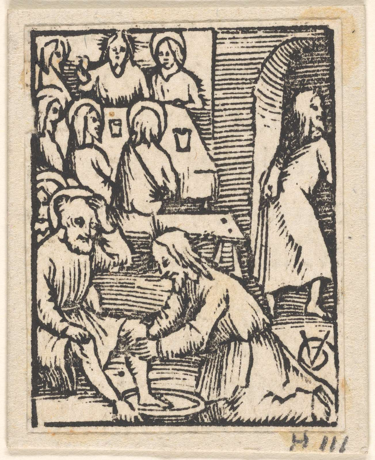The Last Supper, with Christ Washing the Disciples' Feet