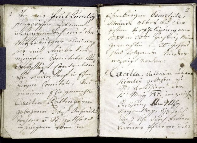 Notes at end -- birth notices? (continue for several more pages).