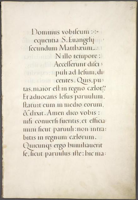 Towneley Lectionary [text with space left for initial].