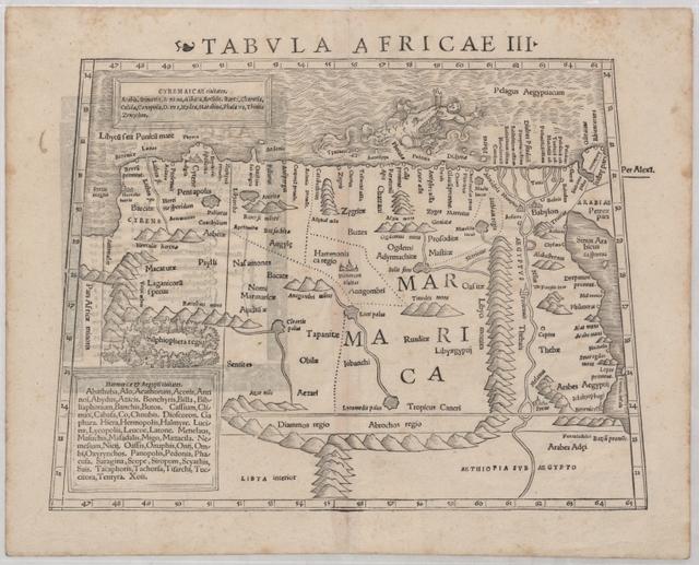 Tabula Africae III