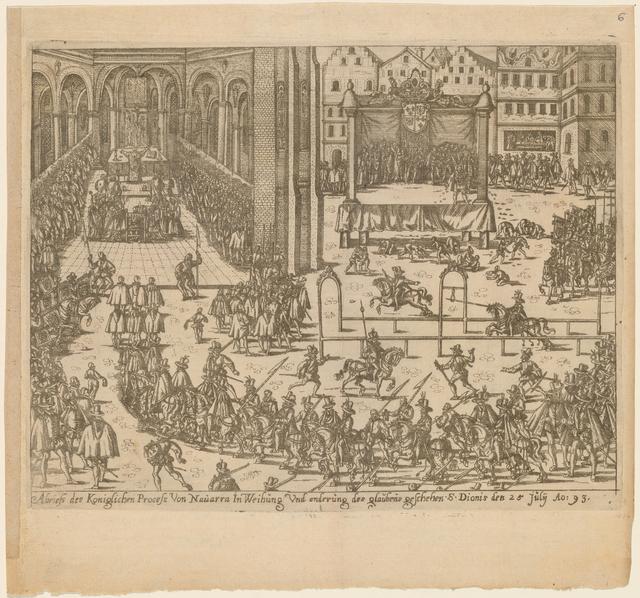 Abriefs des Königlichen prozess von Navarra in Weihung
