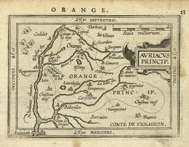 Auriacus Princip[atus].