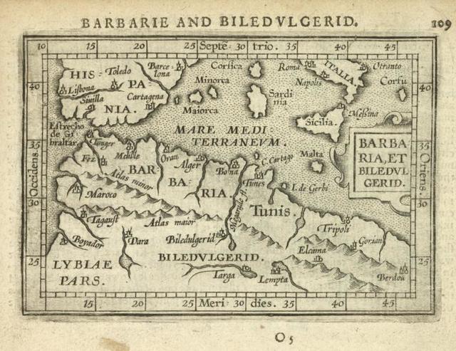 Barbaria, et Biledulgerid.