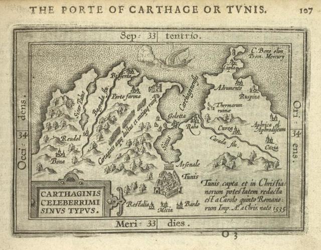 Carthaginis Celeberrimi Sinus Typus.