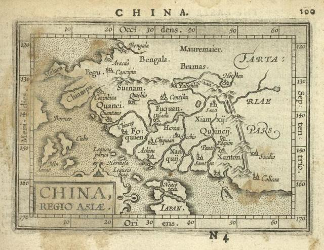 China, Regio Asiae.