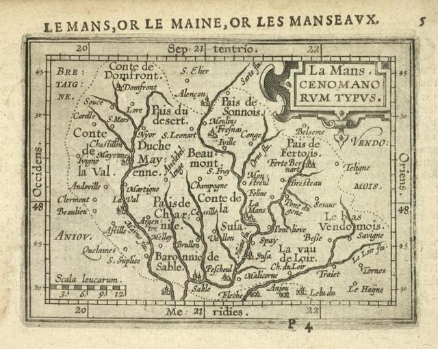 La Mans, Cenomanorum Typus.