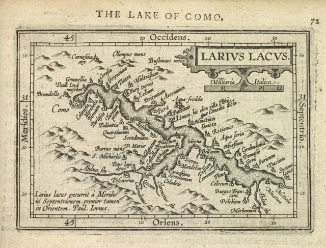 Larius Lacus.
