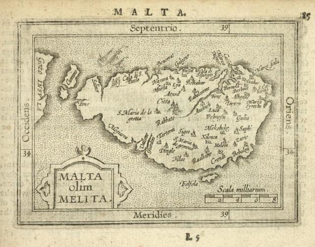 Malta olim Melita.
