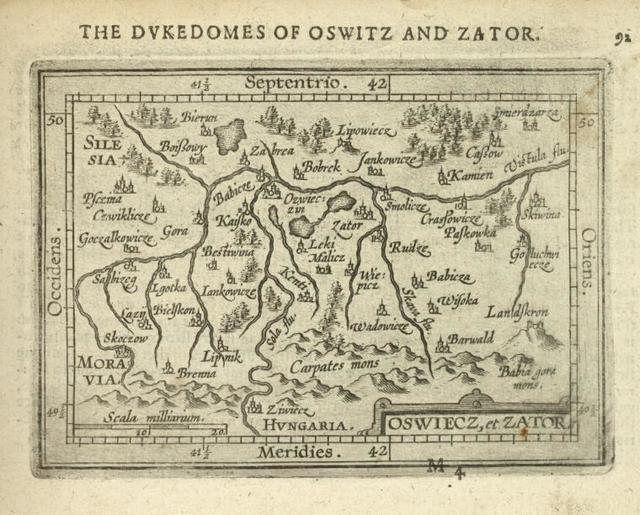 Oswiecz, et Zator.