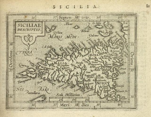 Siciliae descriptio.