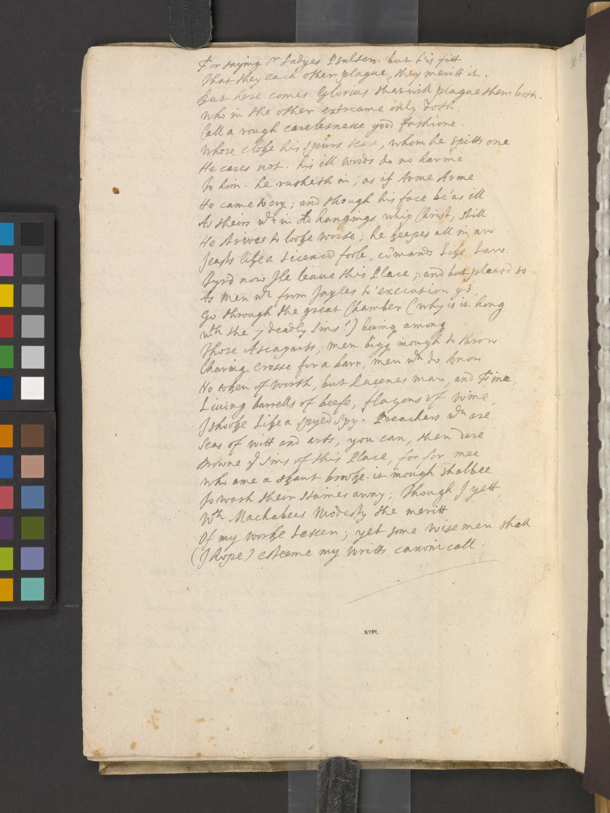 [The Westmoreland manuscript of the poems]