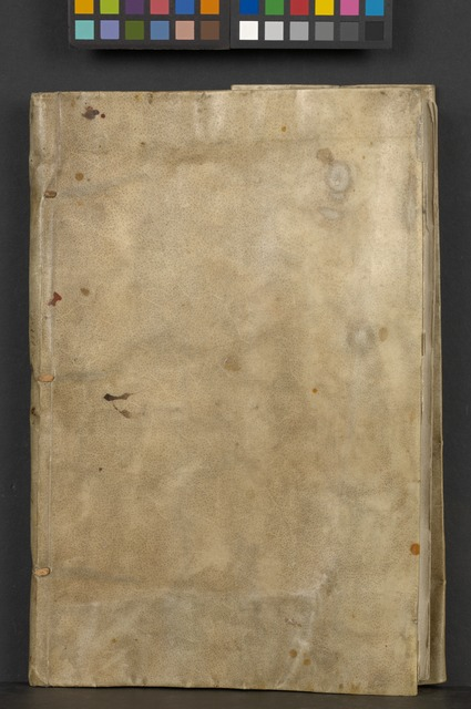 [The Westmoreland manuscript of the poems] (Front cover)