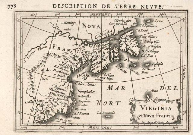 Virginia et Nova Francia.