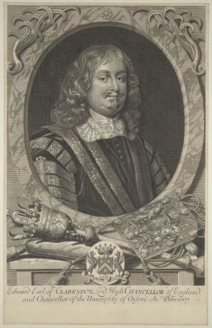 Edvard Earl of Clarendon, Lord High Chancellor of England...