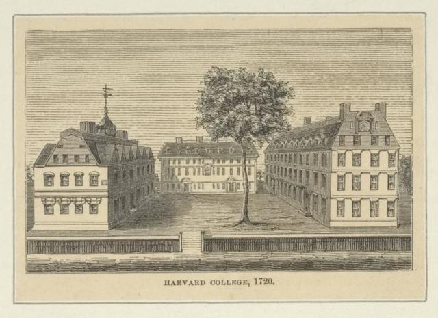 Harvard College, 1720.