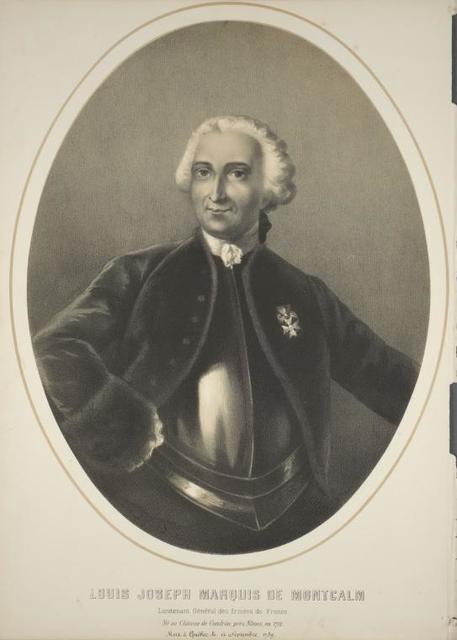 Louis Joseph Marquis de Montcalm...