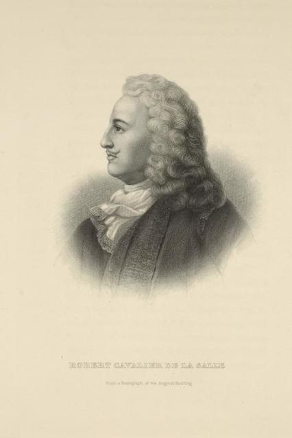 Robert Cavalier de La Salle.
