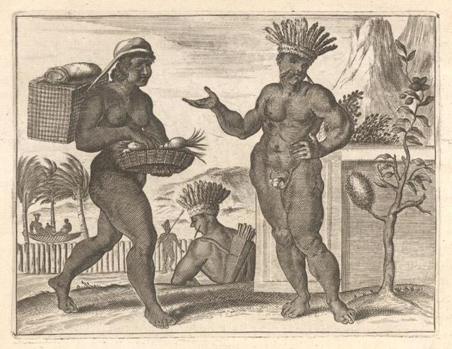 [Brasilian man and woman.]