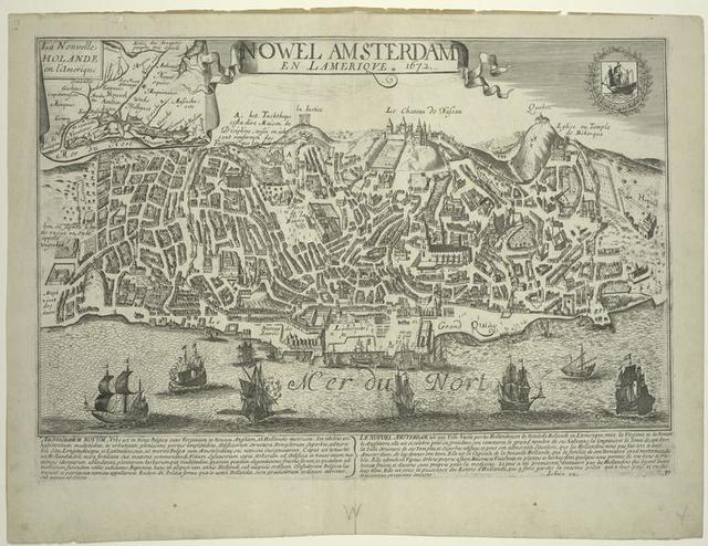 Nowel Amsterdam en l'Amerique.