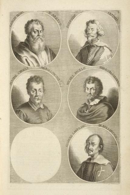 [Bust portraits.] Giorgio Vasari d'Aretso., Iosephus Arpinus, [...]