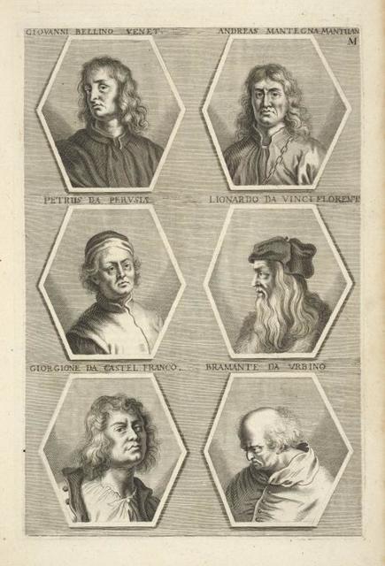 [Bust portraits.] Giovanni Bellino Venet., Andreas Mantegna Mantuan., [...]
