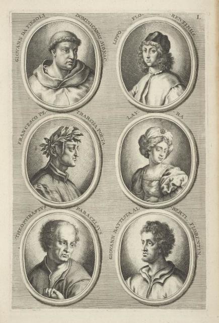 [Bust portraits.] Giovanni da Fiesoli Dominicanus Monac., [...]