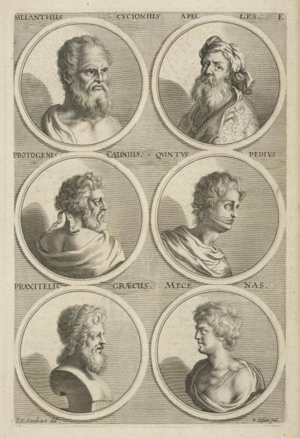[Bust portraits.] Melanthus Cycionius, [...]