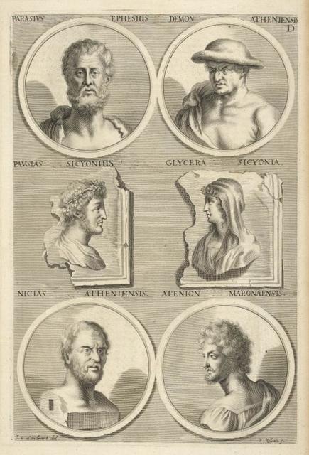 [Bust portraits.] Parasius Ephesius, [...]