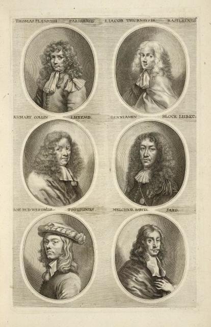 [Bust portraits.] Thomas Planschet Parisiensis, I. Iacob Thurneyser Basileensis, [...]