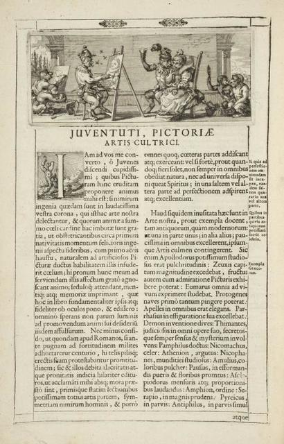 [Head-piece.] Juventuti, Pictoriæ.