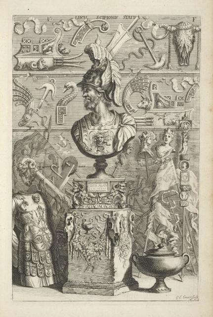 Lucii Scipionis Statua.