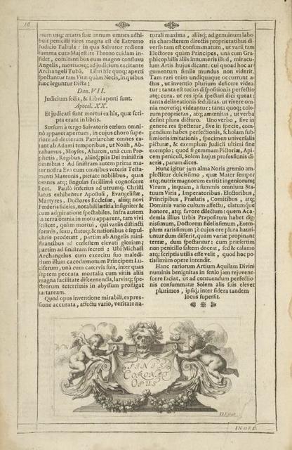 [Tail-piece. Nobilissimi atq; Strenui Domini Joachimi â Sandrart in Stockaw, [...] cont.]