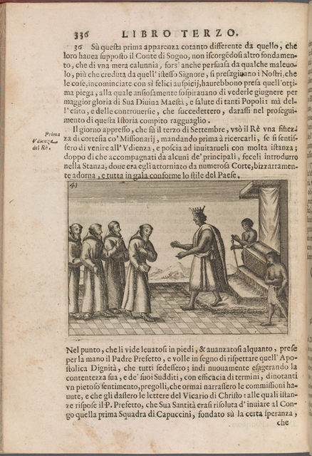 [King Garcia II of Kongo greets Capuchin missionaries] page 336