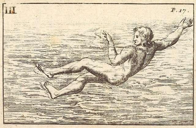 The art of swimming, p. 17