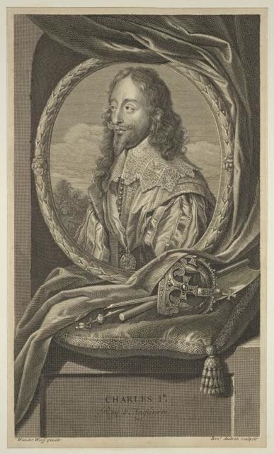 Charles I, Roy d'Angleterre.