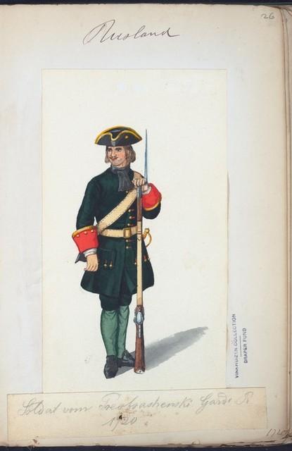 Russia, 1700-33.