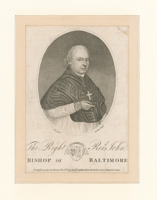 The Right Revd. John Bishop of Baltimore.