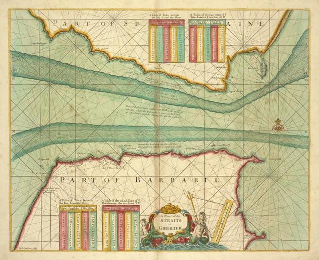 A chart of the STRAITS of GIBRALTER