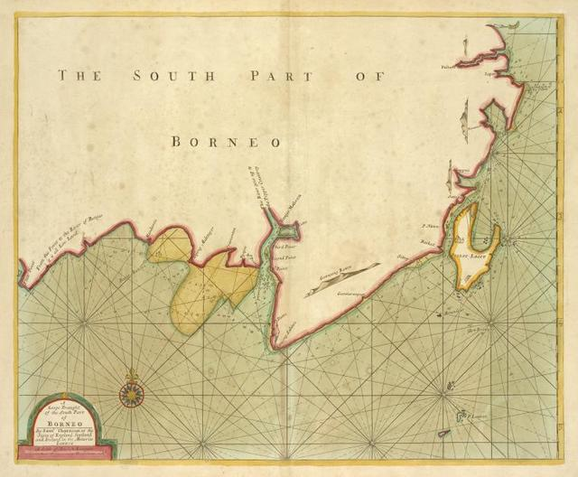 A large draught of the south part of BORNEO