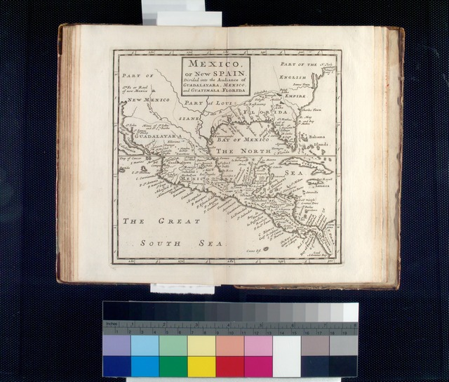 Mexico, or, New Spain : divided into the audiance of Guadalayara, Mexico, and Guatimala, Florida.