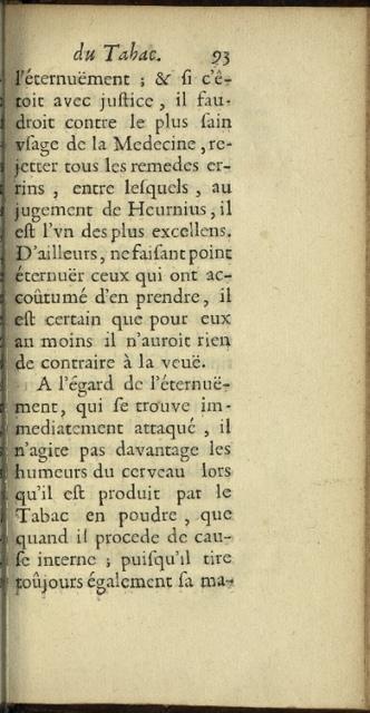 Histoire du Tabac